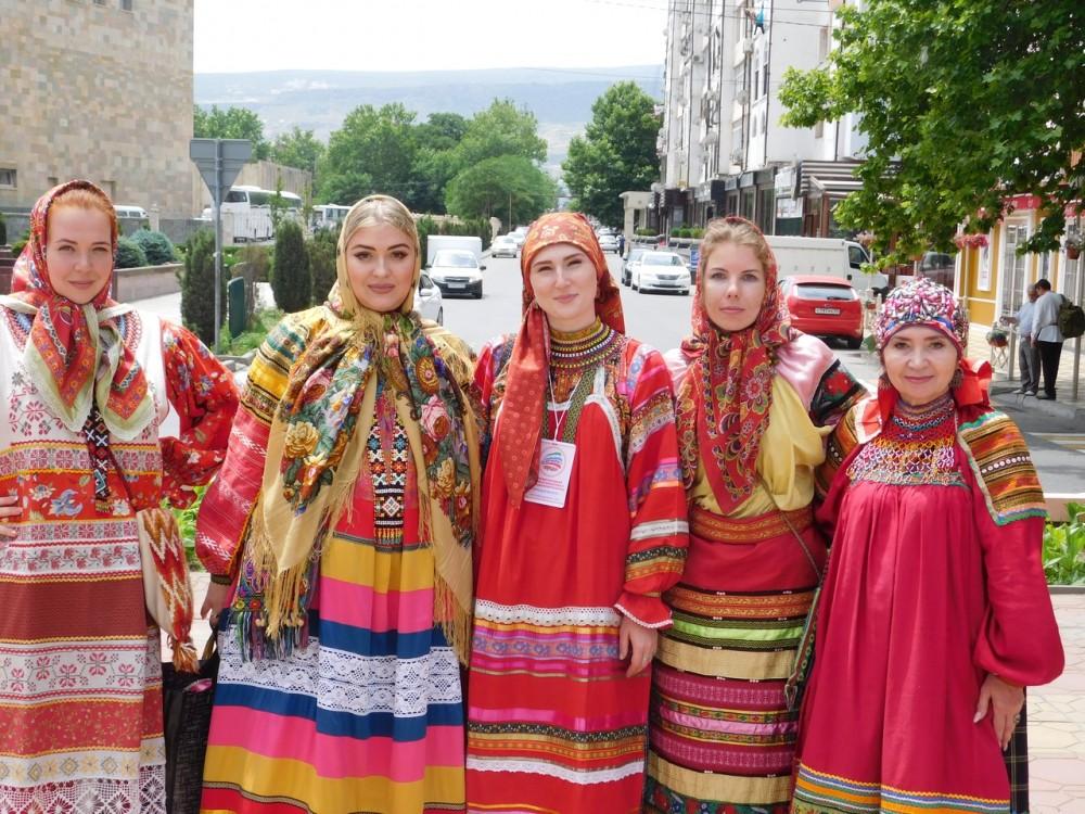 Липецкий ансамбль  покорил сердца зрителей в Дагестане