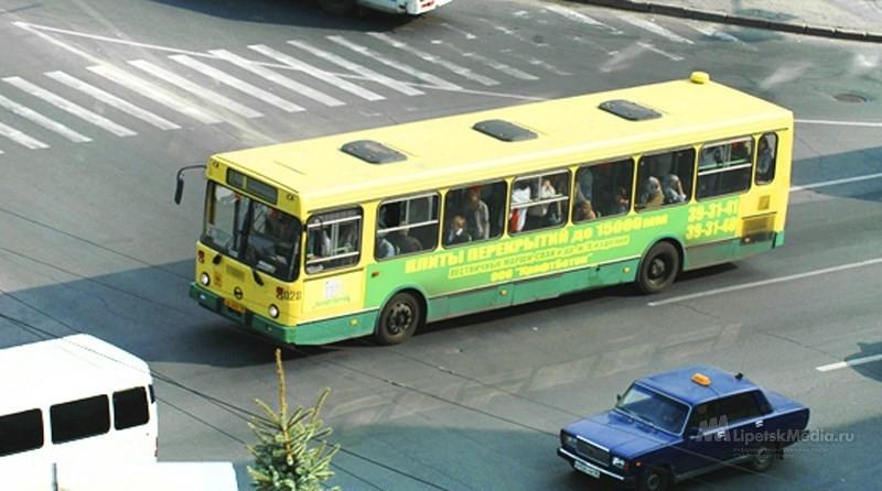 Изменится движение автобусов в центре Липецка