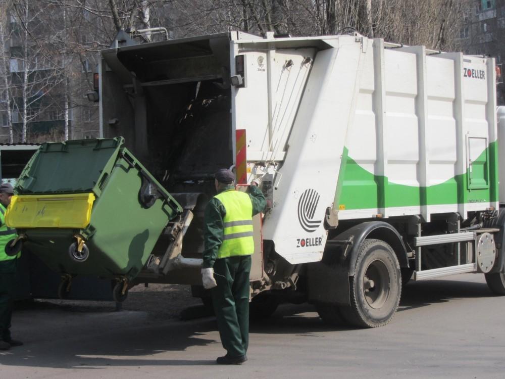 В регионе установили тариф на вывоз мусора