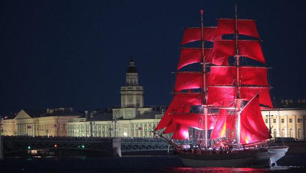 «Алые паруса – 2018» в Санкт-Петербурге состоятся 23 июня