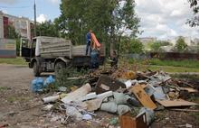 Очередную свалку бытовых отходов ликвидировали в Ярославле