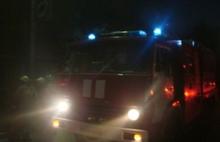 В Рыбинске ночью горел супермаркет: видео