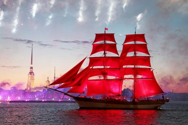 Алые паруса 2018 в Питере: программа мероприятий, во сколько начало, кто выступит, салют, где и когда