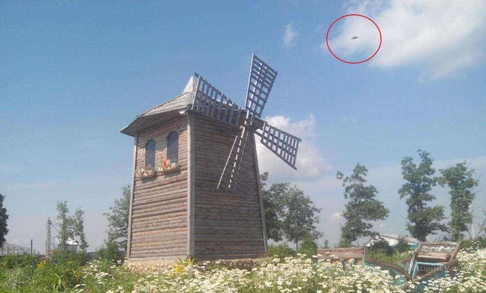 НЛО наблюдали над  Липецкой областью (фото)