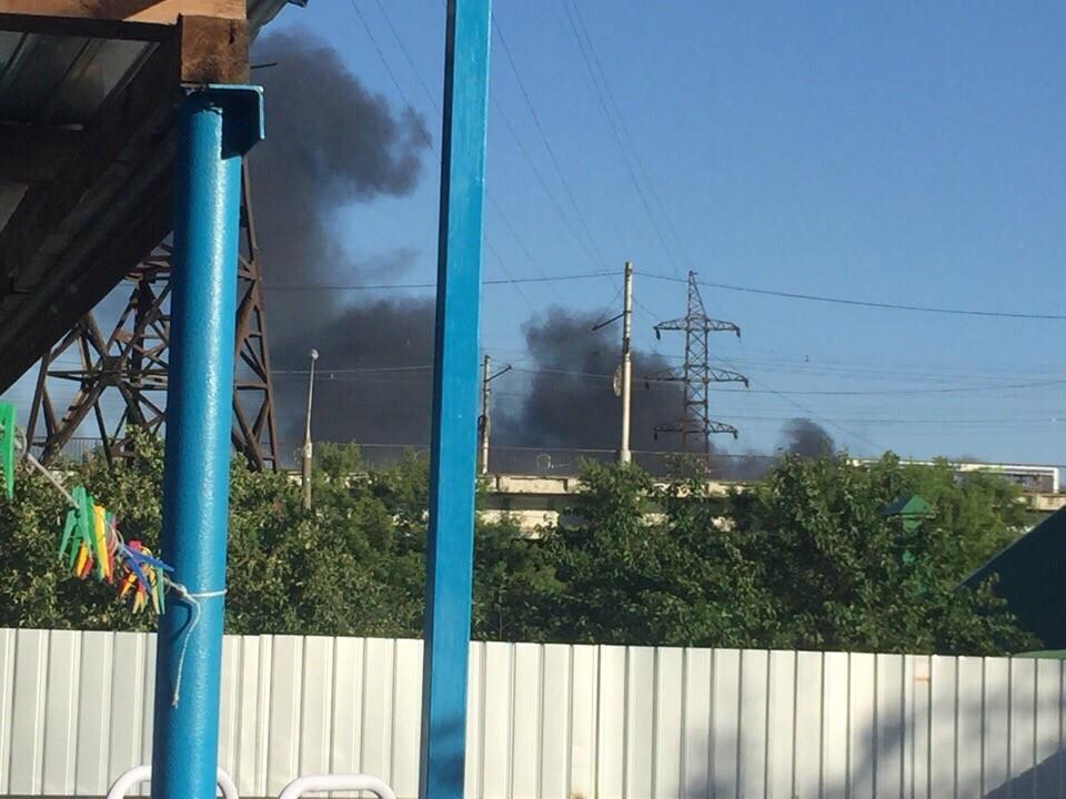В Липецке загорелся завод «Свободный Сокол»