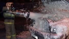 Два автомобиля сгорели в Липецкой области