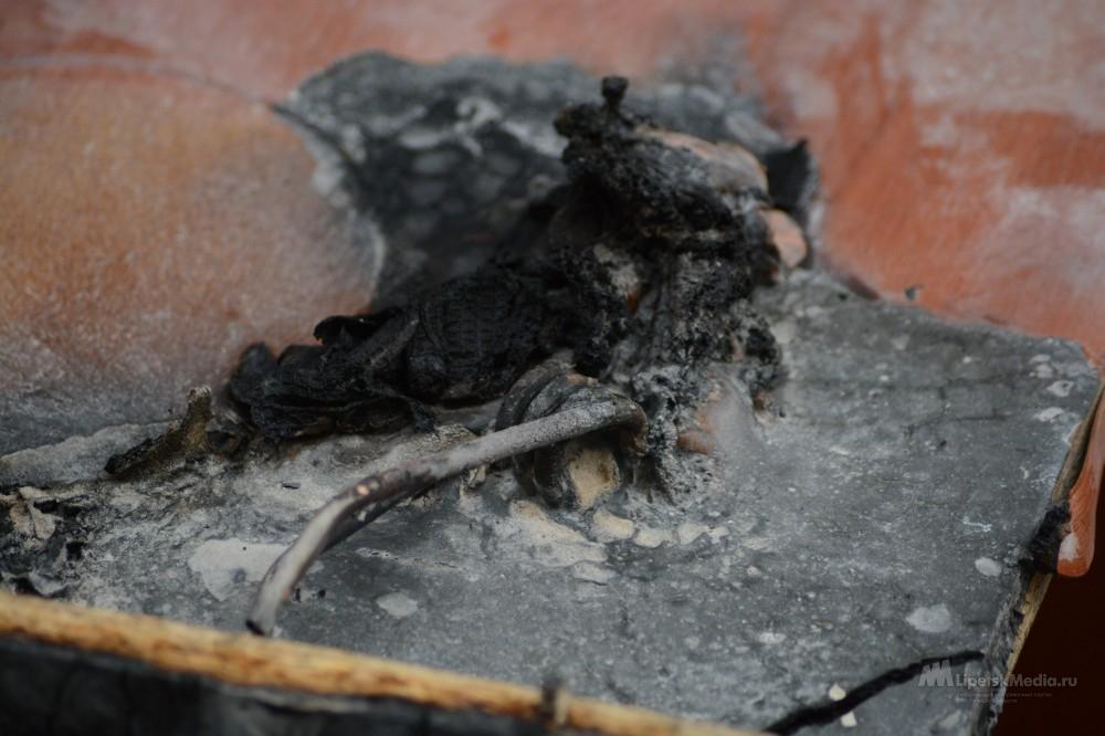 В частном секторе в районе улицы Неделина сгорел дом