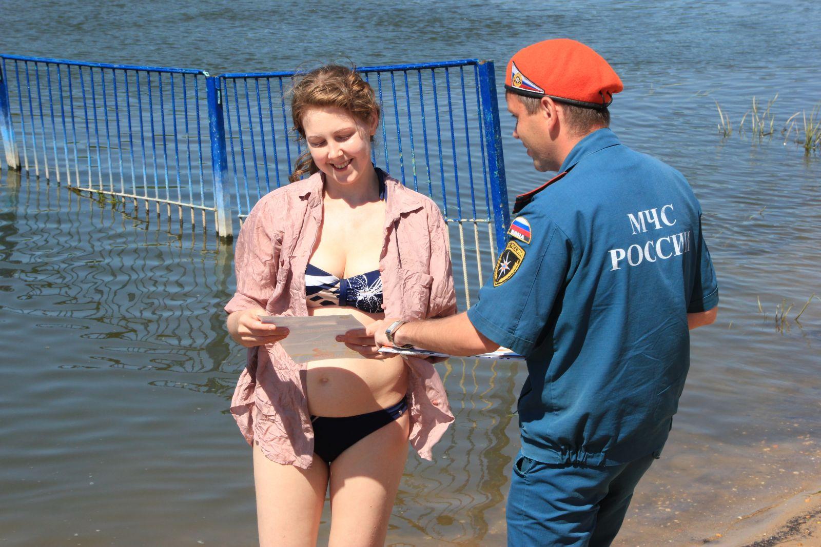 На пляжах Липецкой области отдыхать безопасно
