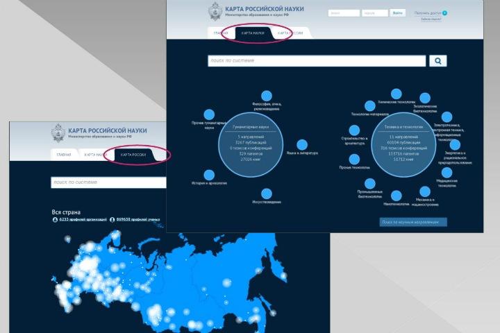 Созданная за 450 млн «Карта российской науки» не работает. Счетная палата нашла множество нарушений