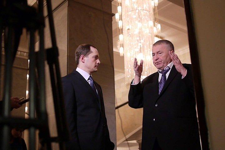 Жириновский возглавил список ЛДПР на выборах в кемеровский облсовет