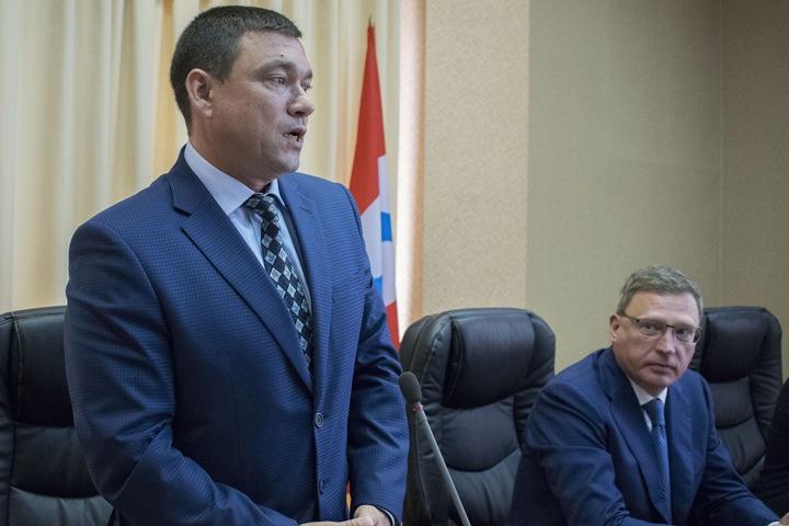 Александр Бурков нашел нового министра промышленности и транспорта Омской области