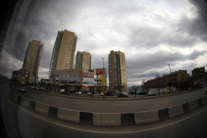 Режим черного неба введен в Красноярске впервые с начала апреля