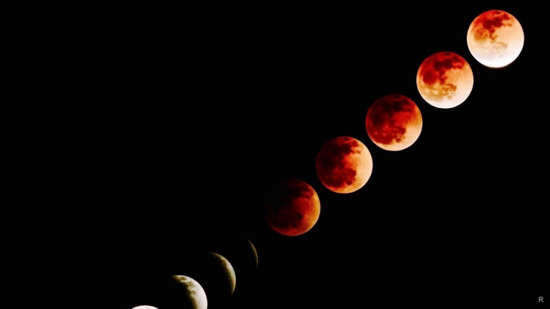 Лунное затмение произойдет 27 июля 2018 года по всей территории России
