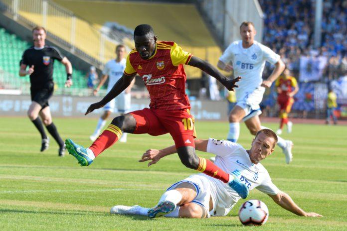 Тульский «Арсенал» сыграл вничью с московским «Динамо»