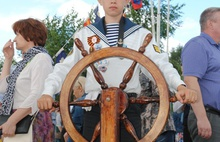 Ушаковский фестиваль под Рыбинском: пройти по палубе корабля 18 века и зарядить пушку