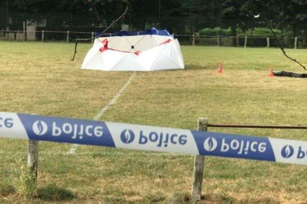 В Бельгии на футбольном поле произошла трагедия