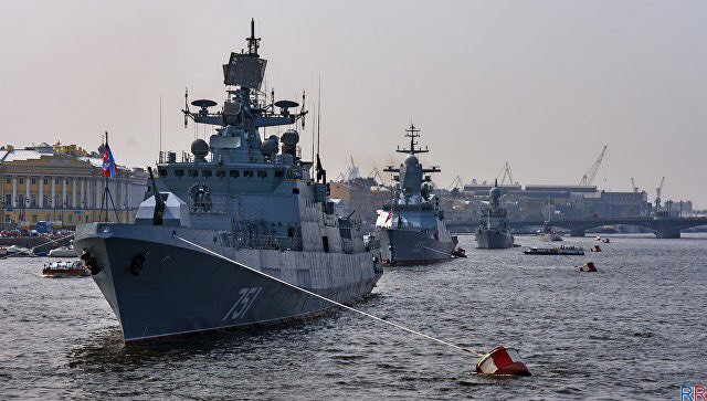 День ВМФ в 2018 году в Санкт-Петербурге: программа