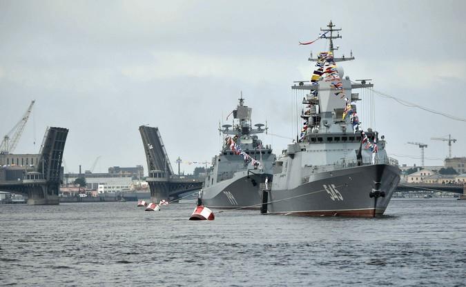 Военно-морской парад в Санкт-Петербурге 29 июля 2018 года порадует шествием лучших военных кораблей России