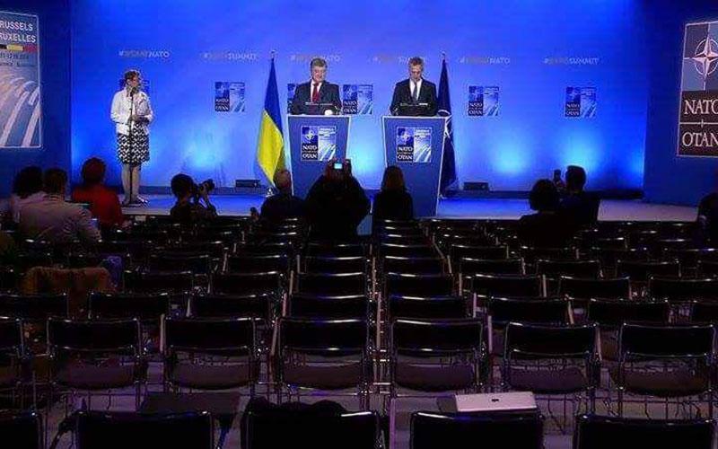 Выступление Порошенко на саммите НАТО