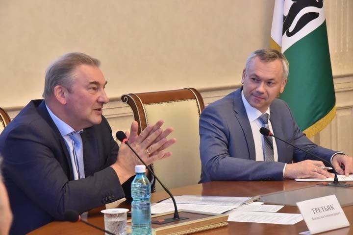 Владислав Третьяк призвал не экономить на креслах в новом ЛДС Новосибирска