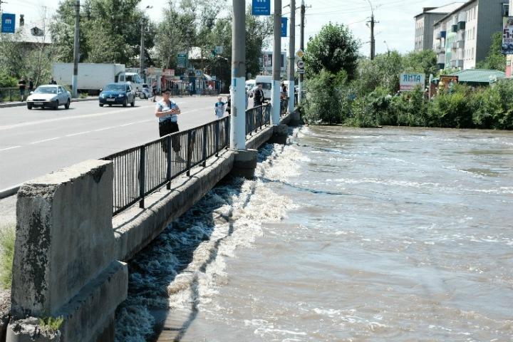 Забайкалье предупредили о второй волне паводка