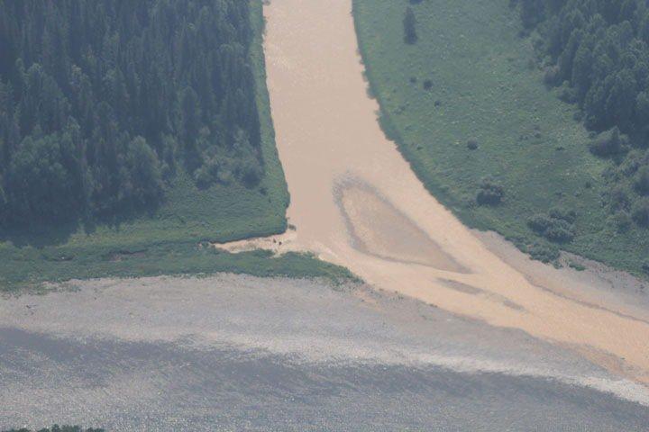 Цивилёв проконтролирует вопрос загрязнения реки Кия золотодобытчиками