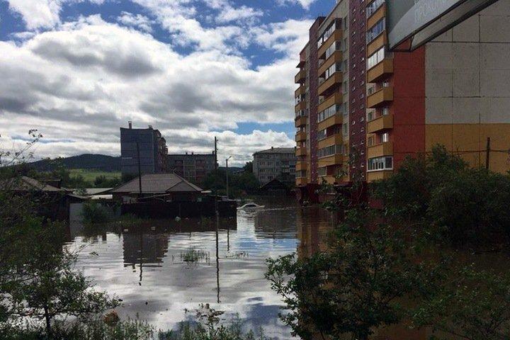 Около 150 жителей остаются в пунктах временного содержания из-за паводка в Забайкалье