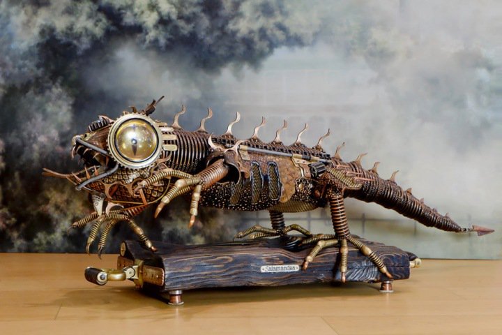 Механическую саламандру и Харадримского Мумакила покажет новосибирцам Краеведческий музей