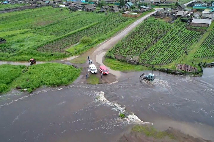 Наводнение в Забайкалье: приближается вторая волна
