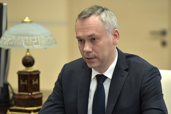 Травников рассказал Путину, что «освоился» в Новосибирске
