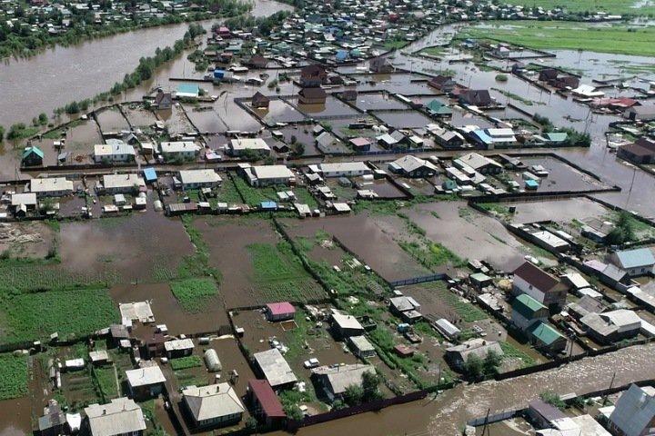 Ливень разрушил дороги до отдаленных районов Забайкалья