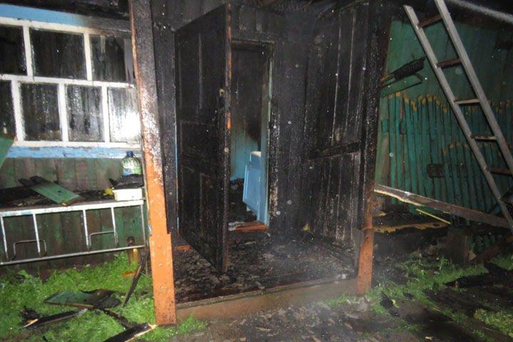 Сгорел дом еще одного защитника алтайских лесов