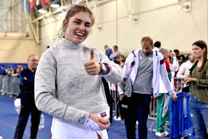 Дочь Позднякова выиграла ЧМ по фехтованию