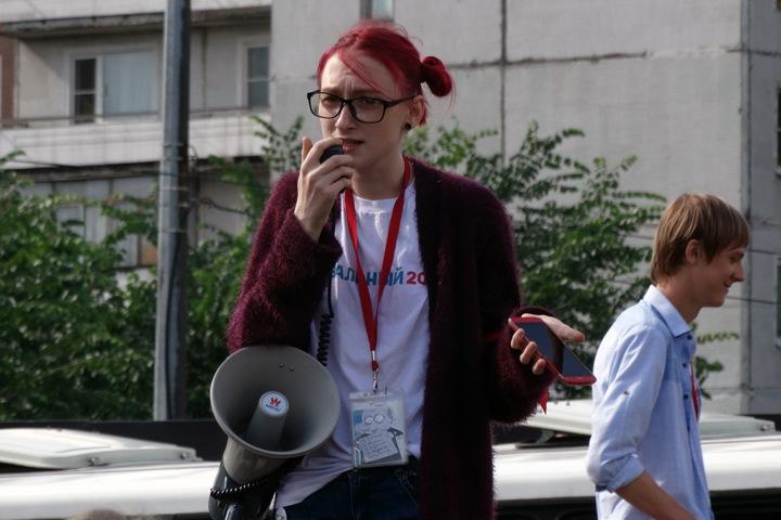Кузбасских активистов задержали за плакат о Путине