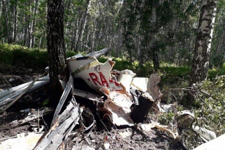 Пропавший в новосибирском небе самолет разбился