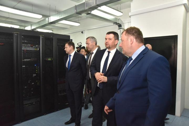 Вице-премьер Максим Акимов оценил цифровизацию Новосибирской области