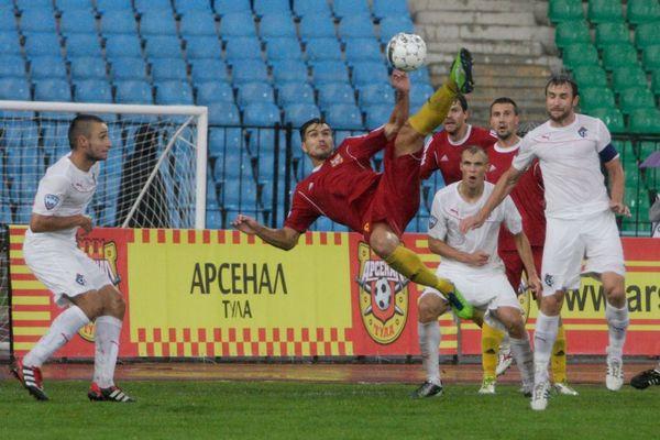 «Томь» повторила достижение тульского «Арсенала» в ФНЛ