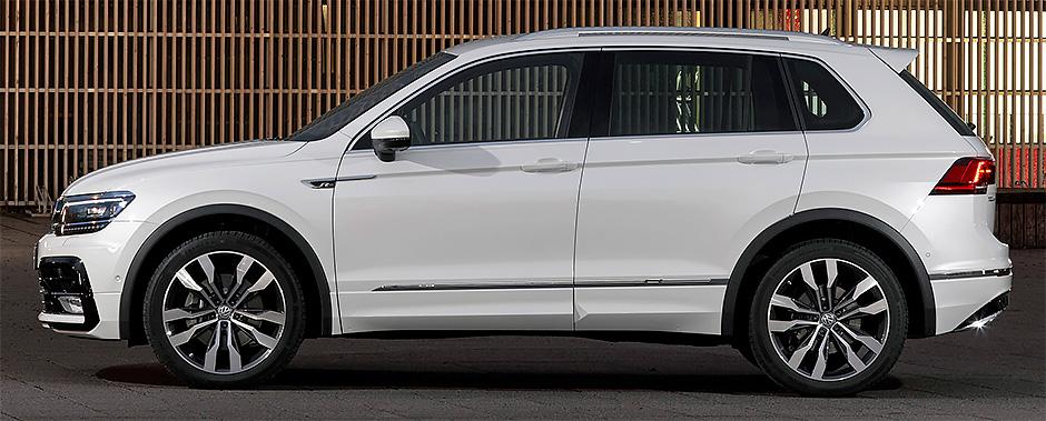 Volkswagen Tiguan 2018: комплектации и цены