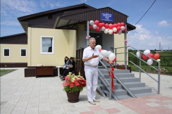 Новый ФАП за 12 миллионов рублей открыли Новосибирской области