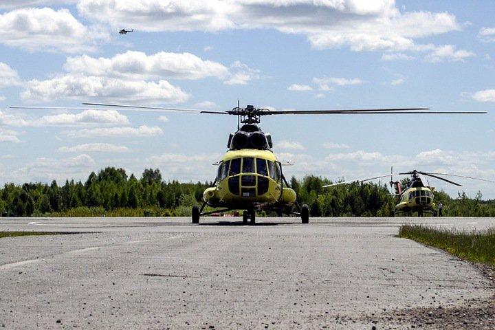 Упавший в Красноярском крае вертолет столкнулся с другим судном