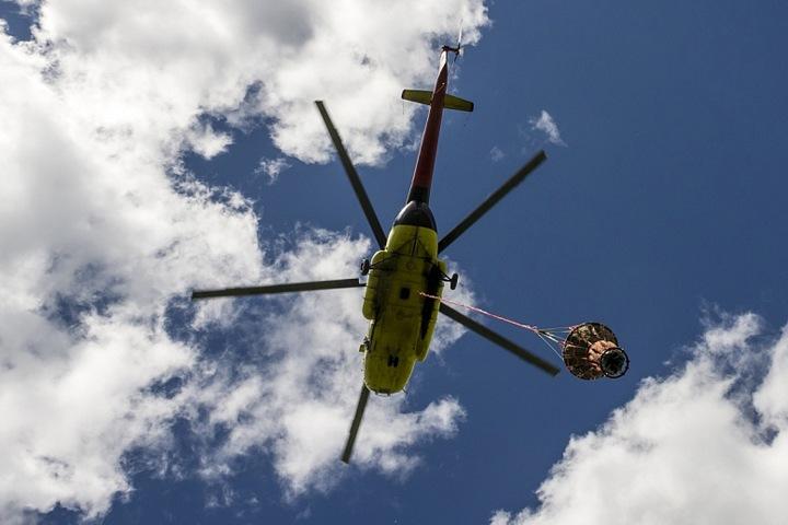 Упавшим в Красноярском крае вертолетом управлял опытный пилот — Минтранс