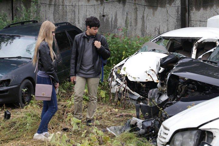 Иркутские полицейские провели выставку разбитых автомобилей