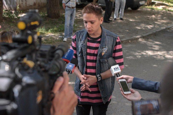 Барнаульский суд перенес на осень рассмотрение дела Даниила Маркина об экстремистских картинках