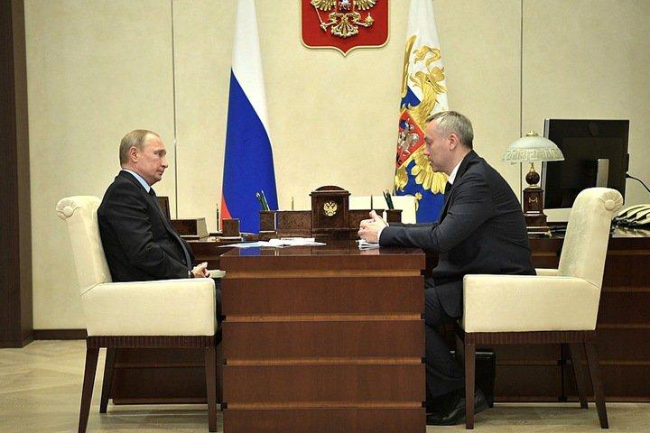 Путин планирует посетить «Технопром-2018» в Новосибирске
