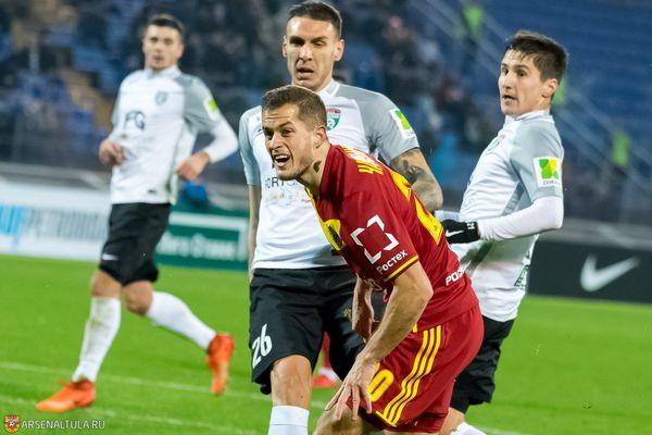 Тульский «Арсенал» отзаявил Горана Чаушича