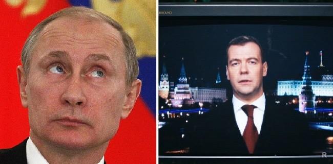 Первые политики России снимались в кино
