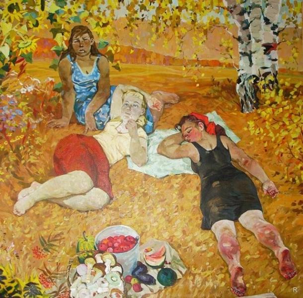 Обманчивый приход короткого тепла в начале осени называют бабьим летом