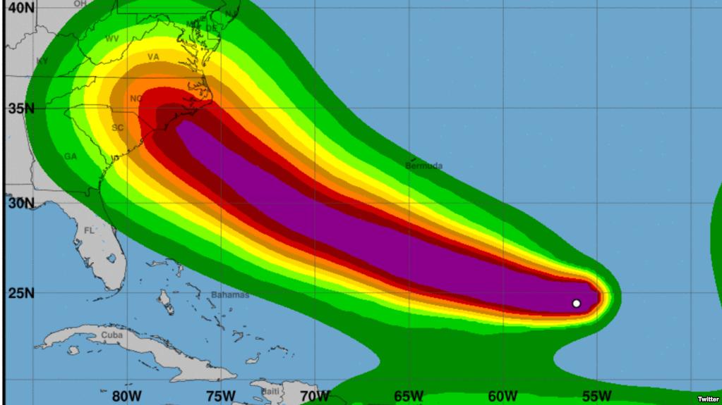 Ураган «Флоренс» может стать самым разрушительным в американской истории
