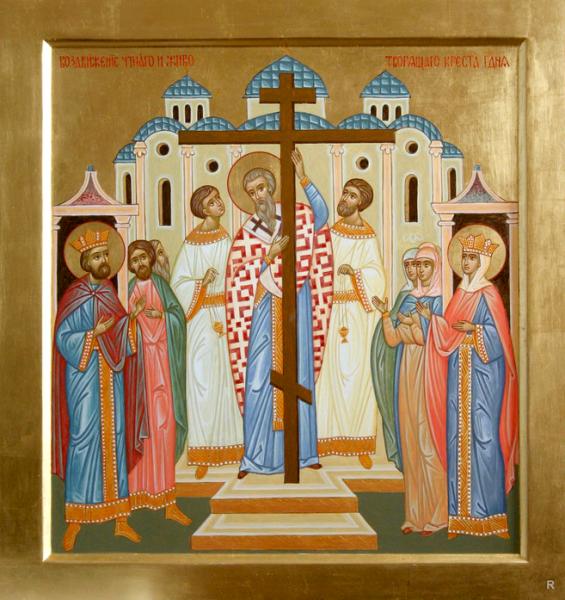 Праздник Воздвижение Креста Господня отмечается 27 сентября