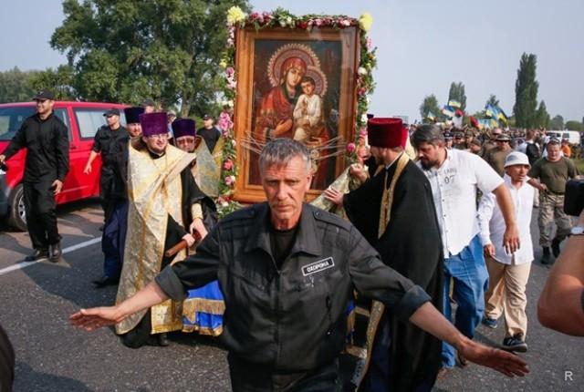 Священный Синод Русской православной церкви приостановил сослужение с иерархами Константинопольского патриархата